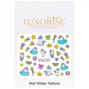 Tatuaj Unghii Unicorn BN-1063, LUXORISE
