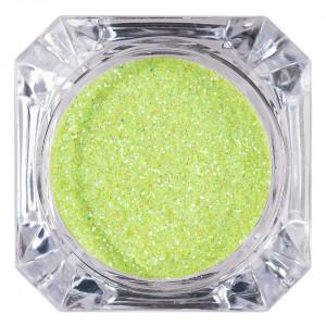 Sclipici Glitter Unghii Pulbere Lime #16, LUXORISE