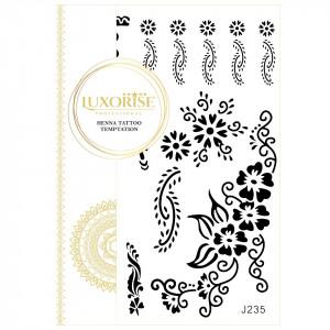 Tatuaj Temporar LUXORISE Flower Girl J235