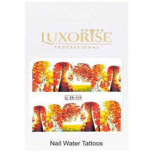 Tatuaj UnghiiFall BN-509, LUXORISE