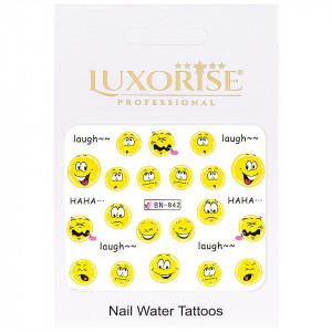 Tatuaj unghii Emotions BN-842, LUXORISE