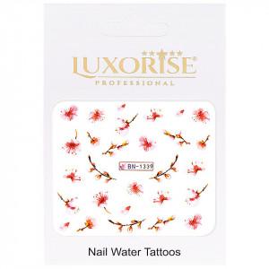 Tatuaj unghii Nature BN-1339, LUXORISE