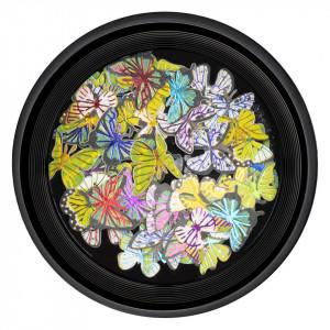 Decoratiuni Unghii Nail Art Butterfly Vibes, LUXORISE