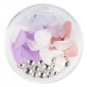 Flori Uscate Unghii cu cristale - Floral Fairytale #18 LUXORISE