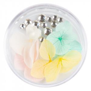 Flori Uscate Unghii cu cristale - Floral Fairytale #24 LUXORISE