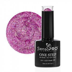 Oja Semipermanenta SensoPRO Milano One Step 10ml - #042 Pink Sugar