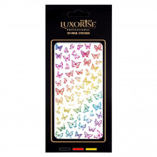 Sticker Unghii Butterfly DP2020, LUXORISE