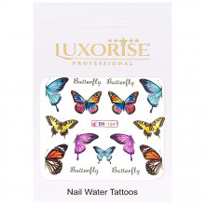 Tatuaj Unghii Butterfly BN-1647, LUXORISE