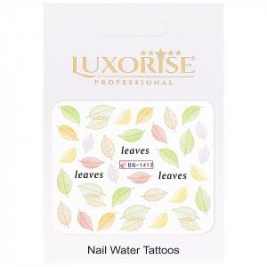 Tatuaj Unghii Nature BN-1413, LUXORISE