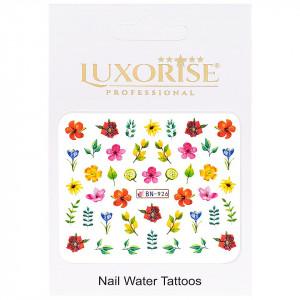 Tatuaj Unghii Nature BN-926, LUXORISE