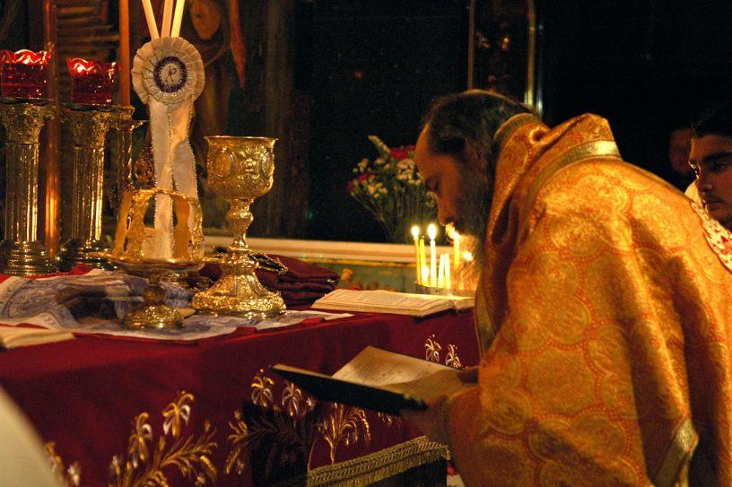 Un Înger la Dumnezeiasca Liturghie