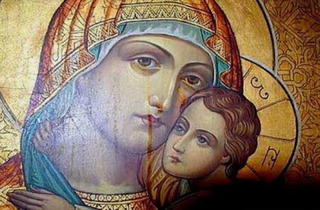 Maica Domnului, dă-mi, te rog, o bucată de pâine!