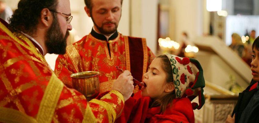 O linguriță înmuiată în Sîngele Domnului nu mai este un obiect casnic bun de pus în mașina de spălat vase, ci este un obiect liturgic care trebuie să rămînă în altar