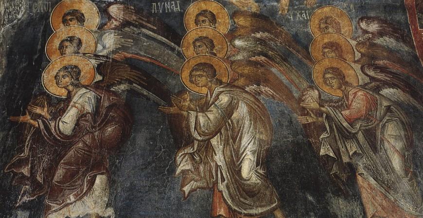 Cum a slujit Sfântul Spiridon singur, fără popor, cu sfinții îngeri