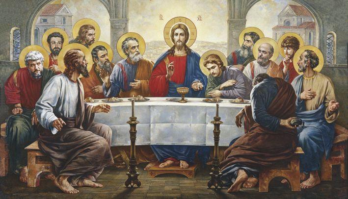 """""""Hristos a rupt o pâine, fără mănuși de unică folosință"""""""