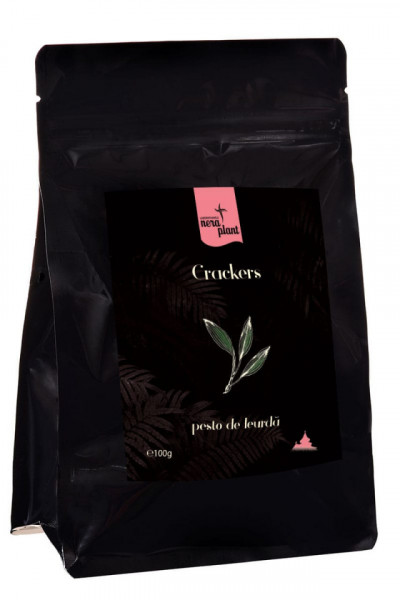 Crackers cu pesto si leurda BIO Nera Plant 100 gr