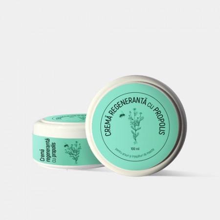 Crema regeneranta cu propolis, 100ml
