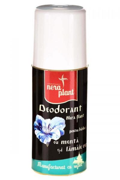 Deodorant Nera Plant cu menta si lamaie verde, 50ml