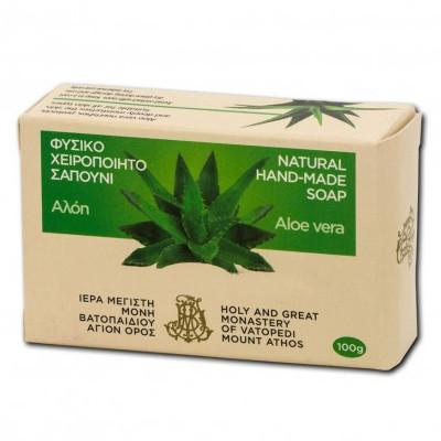 Sapun natural 100 gr - Aloe - Sfantul Munte Athos - Manastirea Vatoped