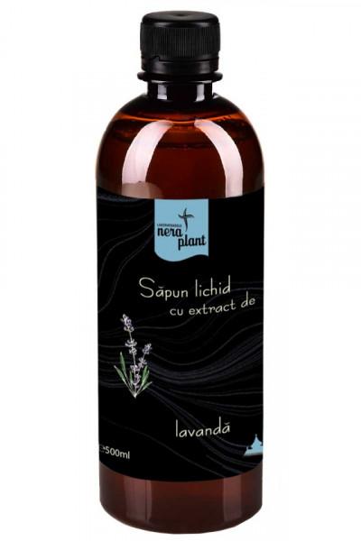 Sapun lichid Nera Plant cu extract de lavanda, 500ml