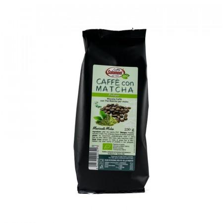 CAFEA BIO CU CEAI MATCHA 250GR SALOMONI