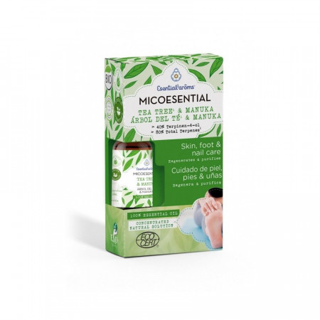 Micoesential, ulei esential BIO din arbore de ceai si manuka, 10 ml