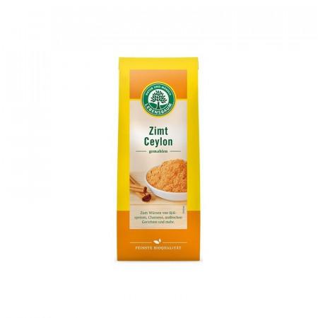 Pulbere de scortisoara BIO de Ceylon, 50 g LEBENSBAUM