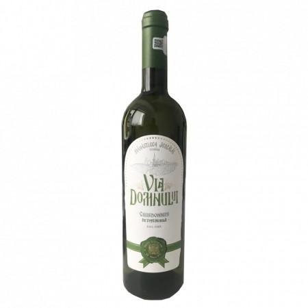 Vin Chardonnay baricat sec - Via Domnului - Manastirea Jercalai, 0,75l