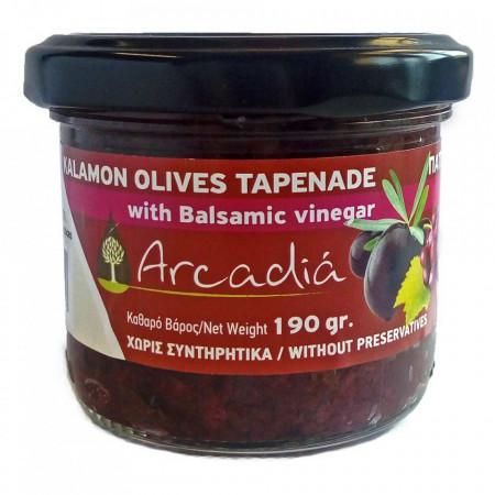 Pastă de măsline Kalamata cu oțet balsamic, 190 gr