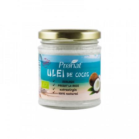 Ulei de cocos extravirgin BIO presat la rece 200 ml