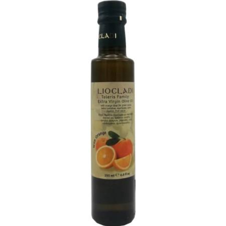 Ulei de măsline extravirgincondimentat cu portocale, 250 ml