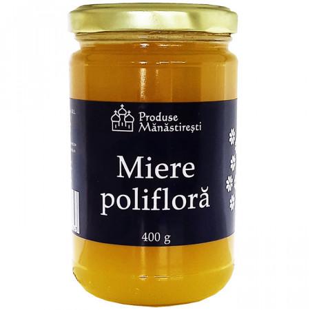 Miere poliflora 100% naturală - 400g