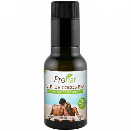 Ulei de cocos Bio extravirgin pentru uz cosmetic, 100 ml