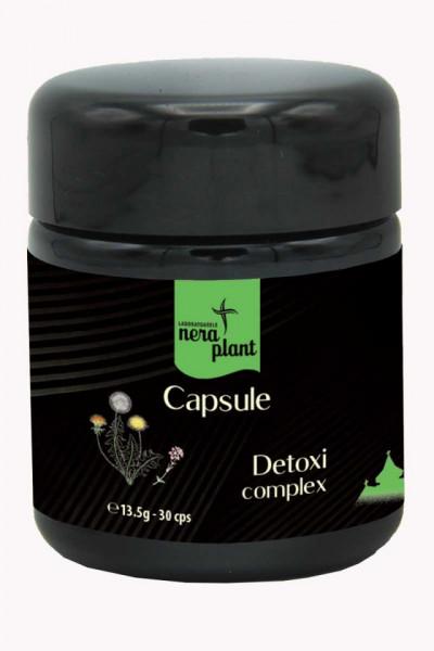 Capsule Nera Plant BIO Detoxi-complex, 30 capsule