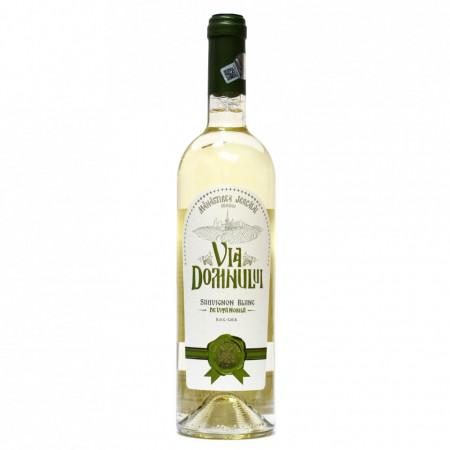 Vin Sauvignon Blanc demisec - 2015, Via Domnului - Manastirea Jercalai, 0,75l