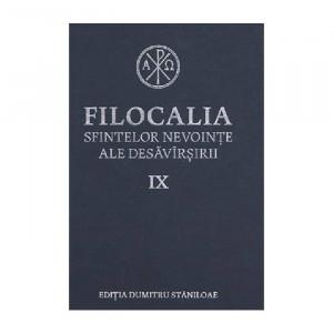Filocalia sfintelor nevointe ale desavarsirii Vol. 9 (ediţia cartonata)