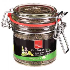 Condiment Nera Plant BIO cu busuioc, oregano si cimbrisor, 33g