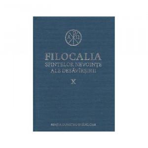 Filocalia sfintelor nevointe ale desavarsirii Vol. 10 (ediţia cartonata)