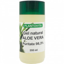 GEL NATURAL CU ALOE VERA, PURITATE 98,3% 200 ML