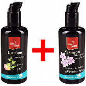 Pachet promo: Lotiune de par 200 ml + Sampon par deteriorat 200 ml