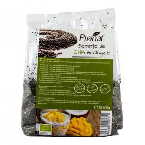 Seminte de Chia bio, 500 g