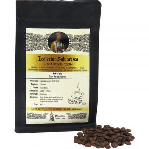 """Cafea boabe proaspat prajita handmade """"Ecaterina Salvaresso , PREMIUM"""" , 150g"""