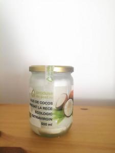 ETICHETA DETERIORATA - Ulei de cocos BIO presat la rece extravirgin 500 ml
