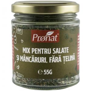 MIX DE CONDIMENTE PENTRU SALATE SI MANCARURI, FARA TELINA, 55G