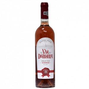 Vin Merlot Roze sec - Via Domnului - Manastirea Jercalai, 0,75l