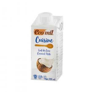 Crema vegetala Bio pentru gatit pe baza de cocos, 200 ml
