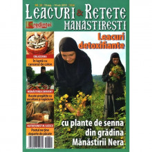 LEACURI ŞI REŢETE MĂNĂSTIREŞTI. NR. 29