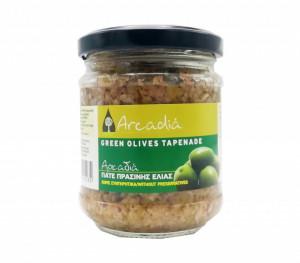 Pastă de măsline verzi, 190 gr