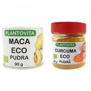 Pachet curcuma + maca pudra