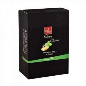 Sirop Nera Plant BIO de coacaze negre cu lamaie, 3L